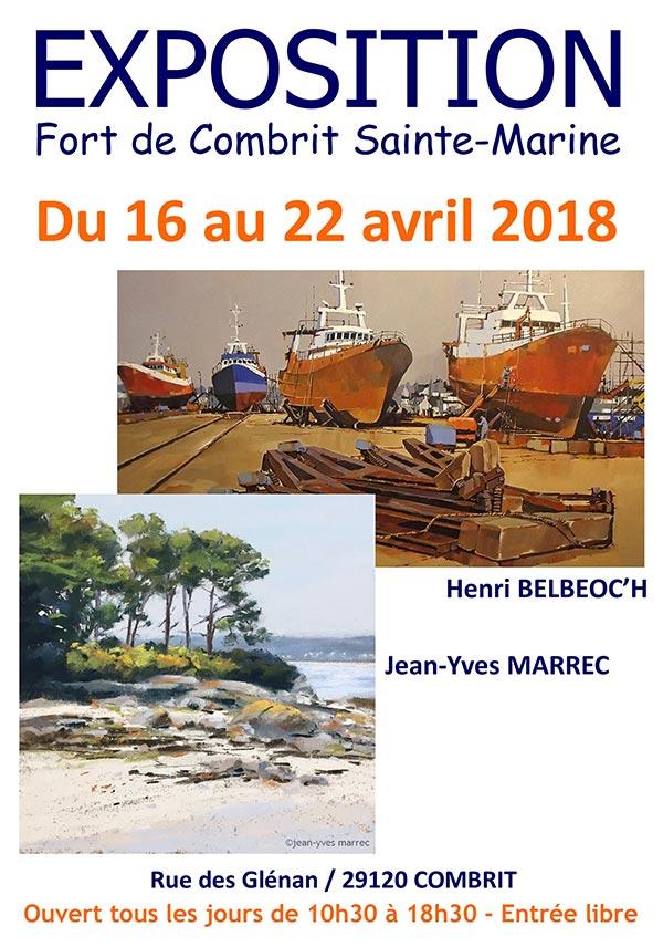 Expo 2018 Fort de Sainte Marine - © Henri Belbéoc'h
